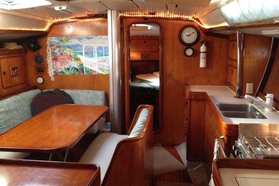 luxury above and below decks!