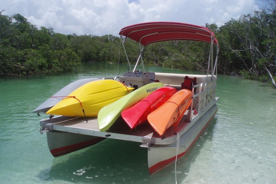 Kayak Transport Guide boat