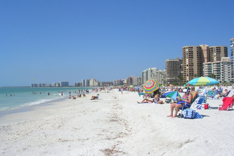 This Is One Of Two Beaches Open To The Public On Marco Island Parking Lot Swallow Avenue A Short Walk Across S Collier Blvd From Beach