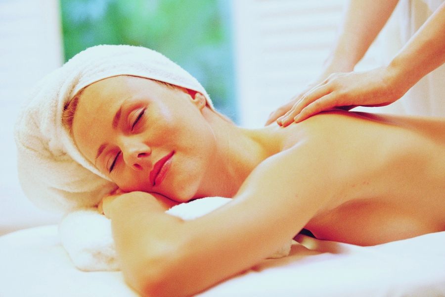 Massage at The Spa at The Naples Beach Hotel & Golf Club