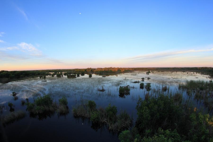 Sunrise at the Marsh Trail