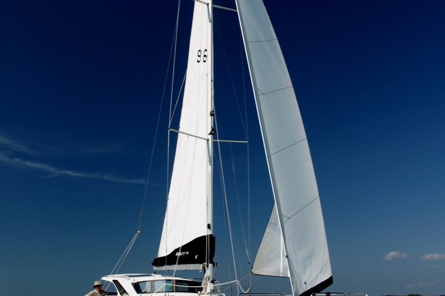 TropicBird under sail on Gulf