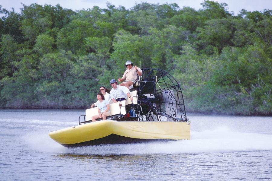Wooten's Everglades Airboat Rides