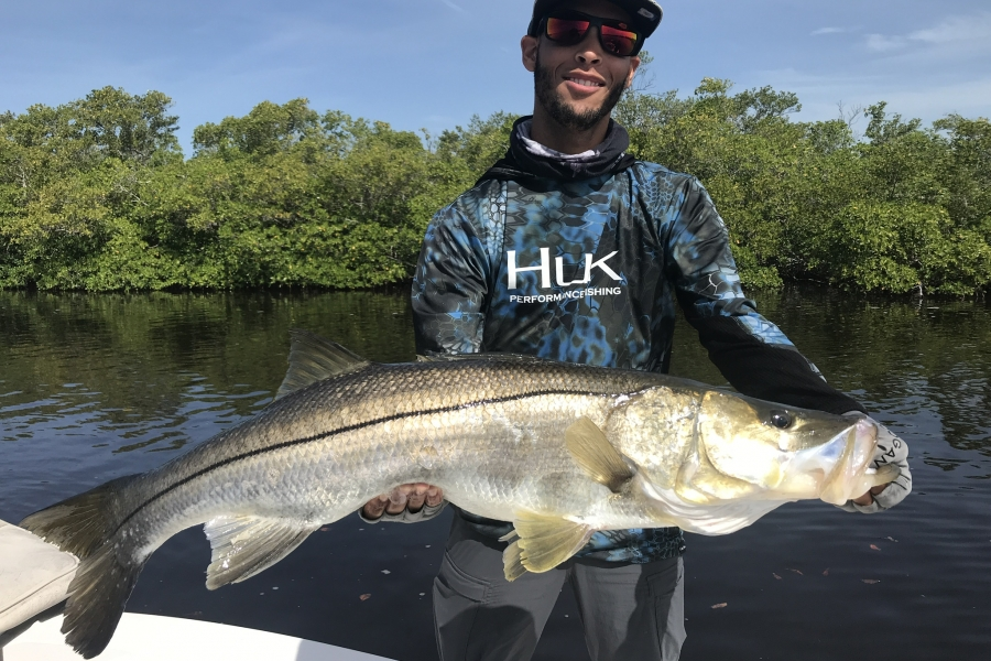 Backwater snook fishing in Naples