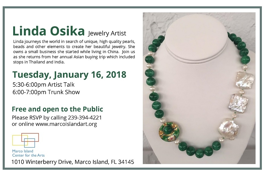 Unique Jewelry by Linda Osika At Marco Island Center for the Arts ...