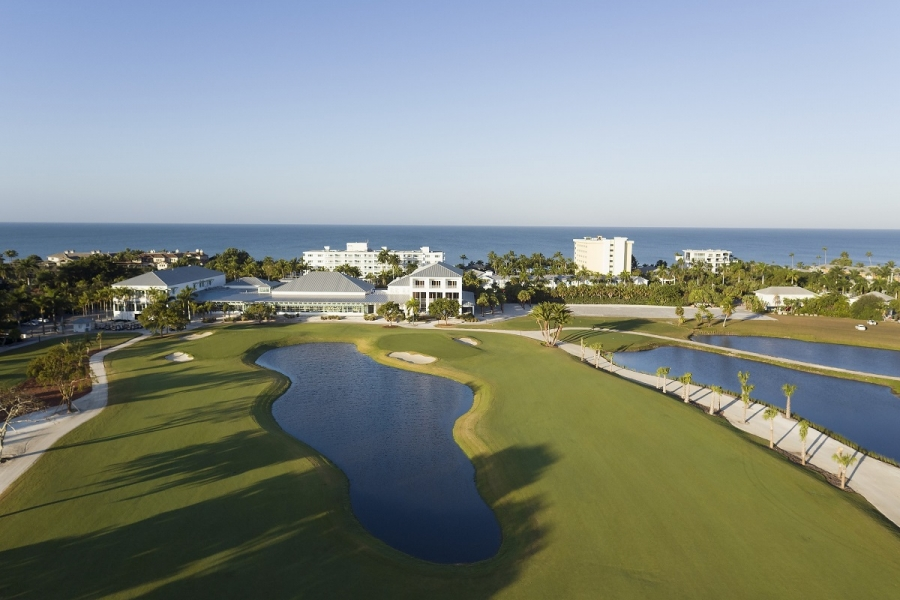 Aerial Naples Beach Hotel Jpg