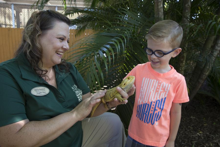 Get Closer at Naples Zoo!