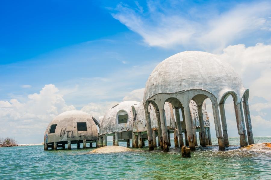 Cape Romano Dome Houses, Ten Thousand Islands