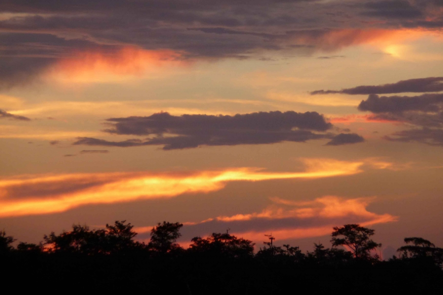 Sunset view from the Ranger Station
