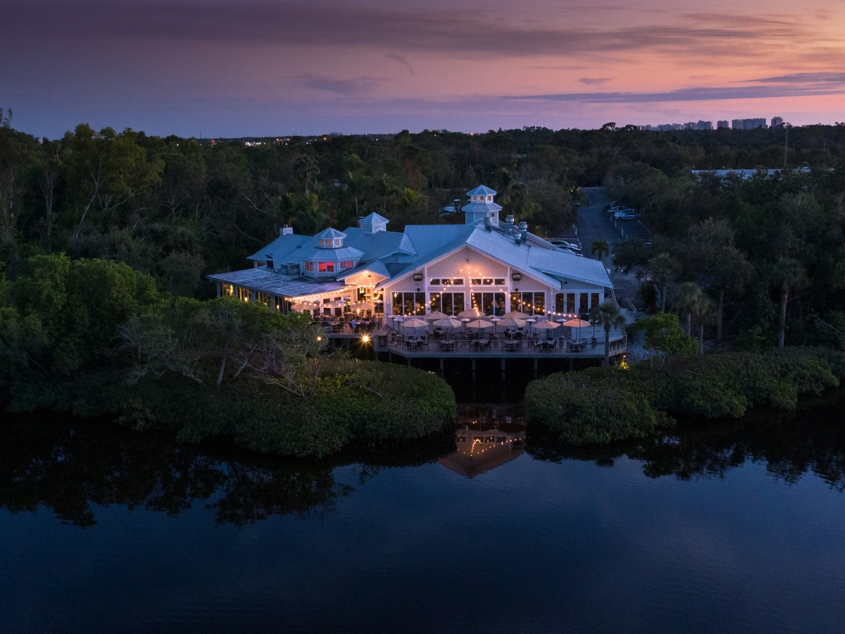 The Bay House on the Cocohatchee River