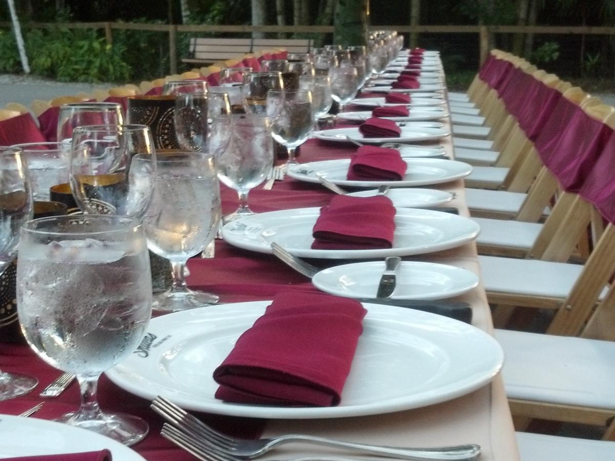Intimate Dinner Party at Black Bear Hammock