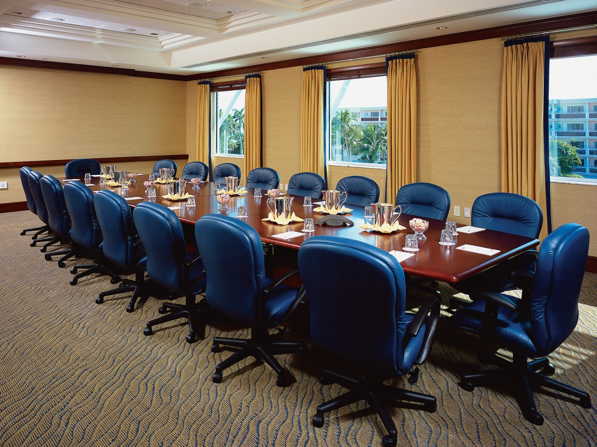 Two boardrooms - 18-seat conference