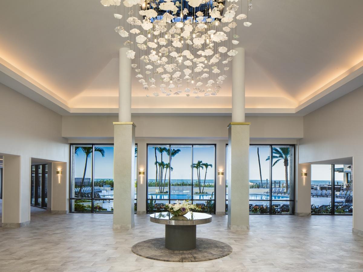 Hilton Marco Island Lobby
