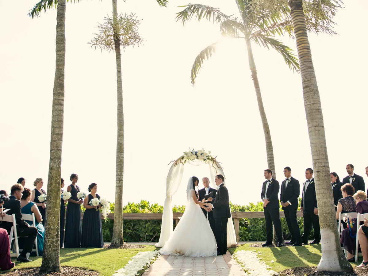 Hilton Naples Beach Ceremony Locations - 8th Avenue South Location