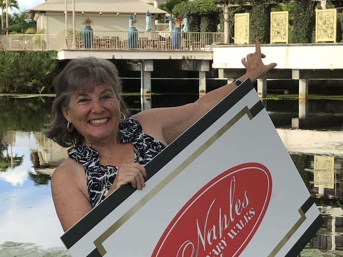 Owner/Guide Jamie Ross welcomes you to a Naples Culinary Walk