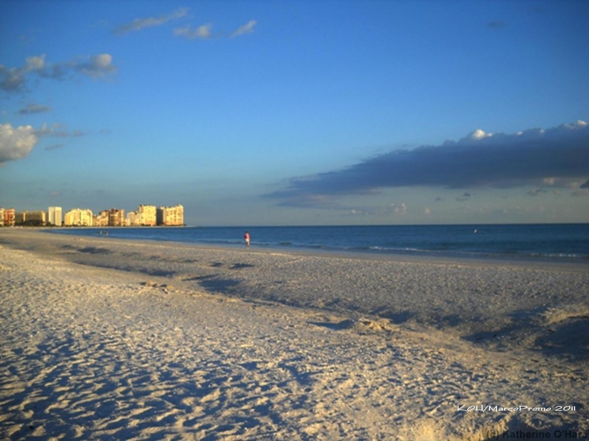 Marco Island's beach