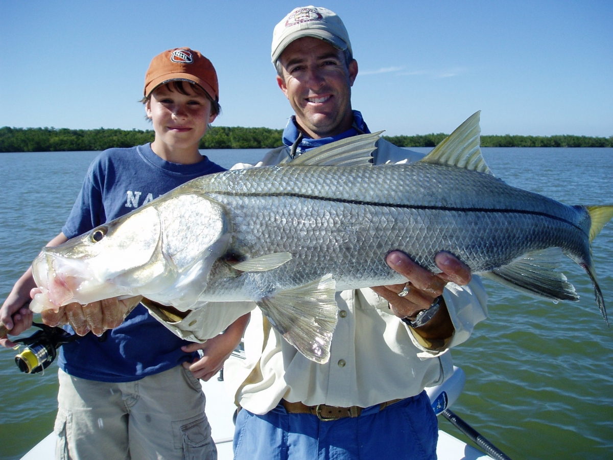 Exciting spin and fly fishing in the 10,000 Islands and Everglades National Park