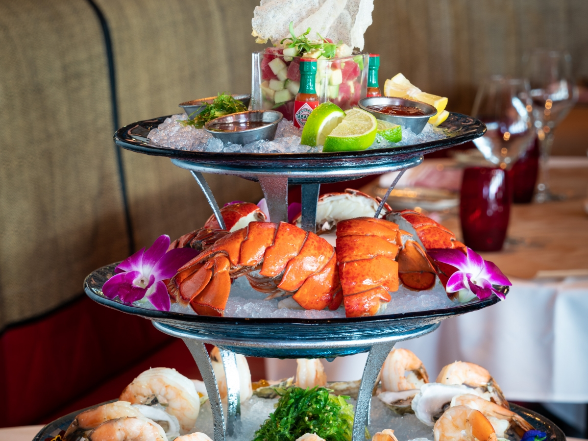 Seafood Tower at The Catch of the Pelican
