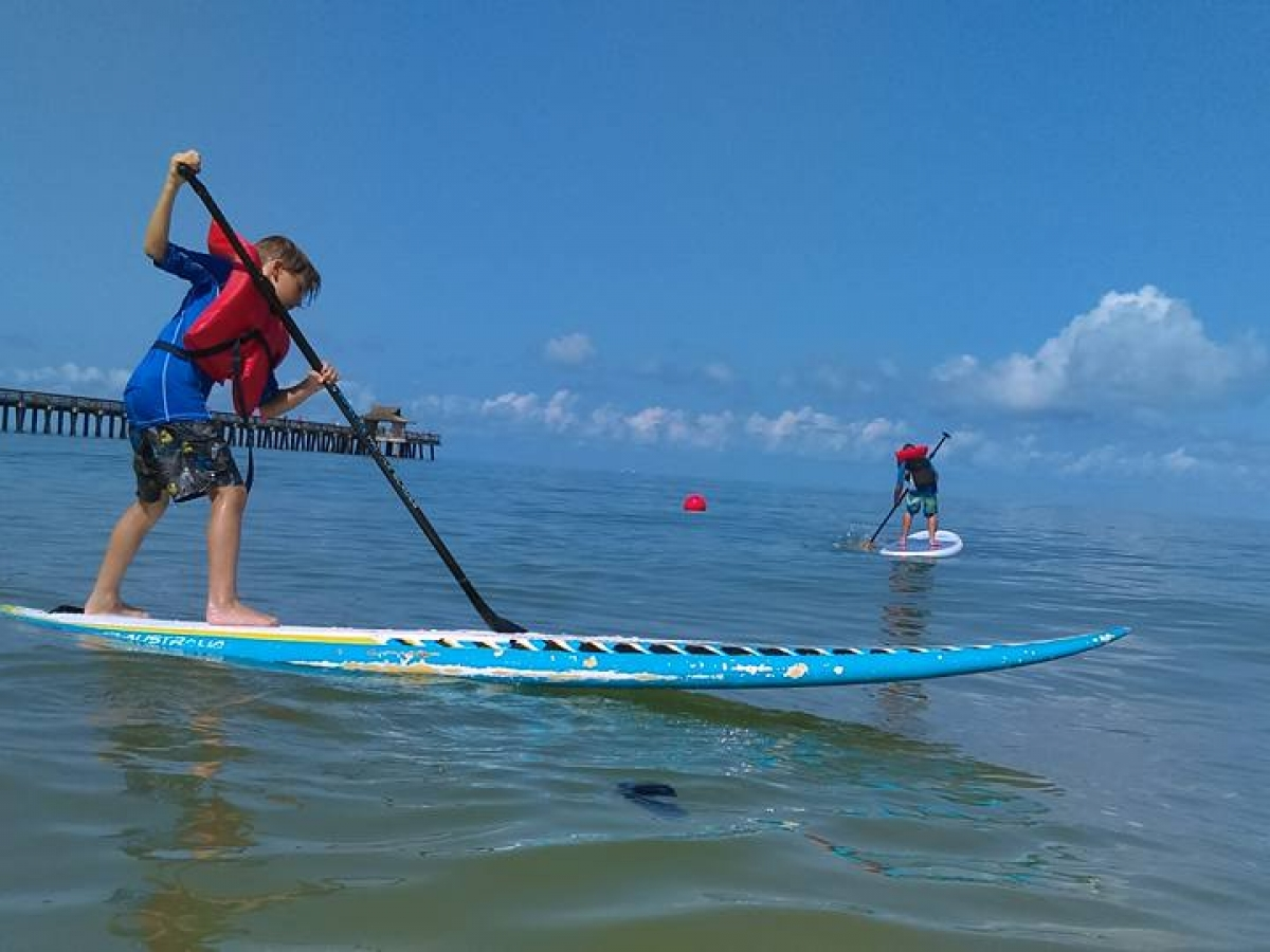paddleboard lessons and rentals