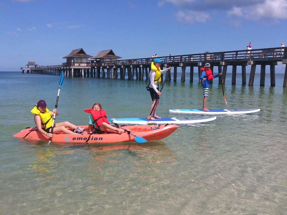 naples paddleboard rentals , naples pier