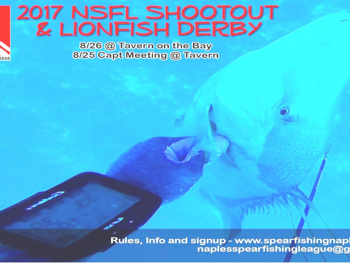 2017 NSFL Shootout & Lionfish Derby