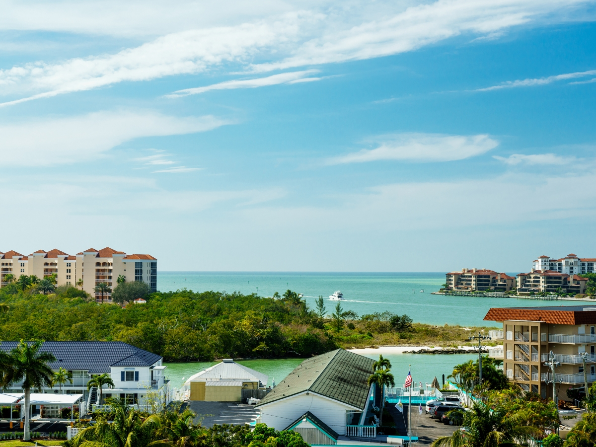 View from 4th Floor of Olde Marco Island Inn & Suites