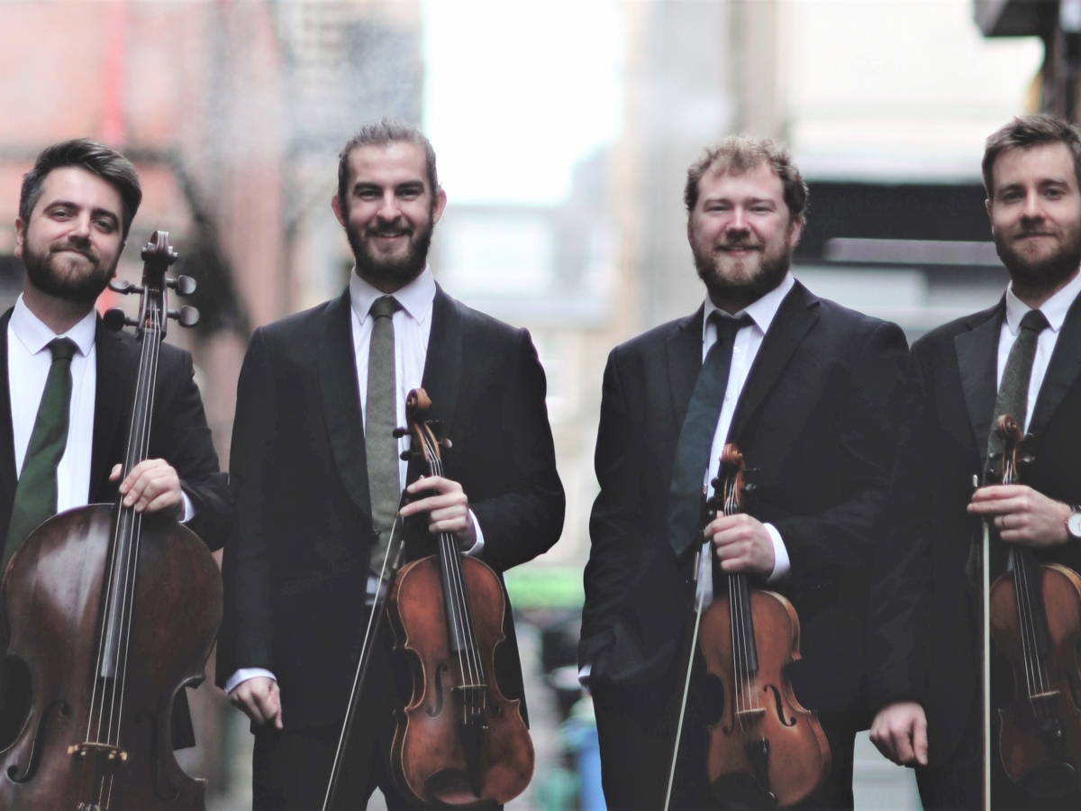 Maxwell Quartet - Beaux Arts Chamber Music Series Jan 22, 2019 Opera Naples Wang Opera Center
