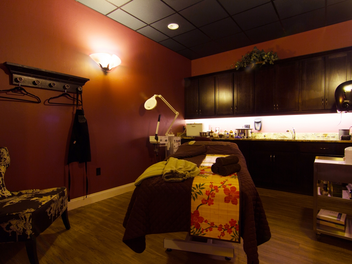 One of Our Facial/Massage Rooms