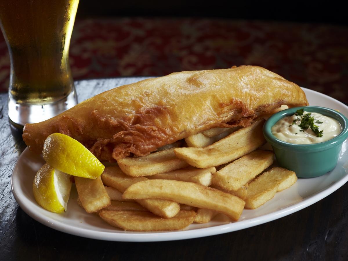 The Pub's Signature Fish & Chips