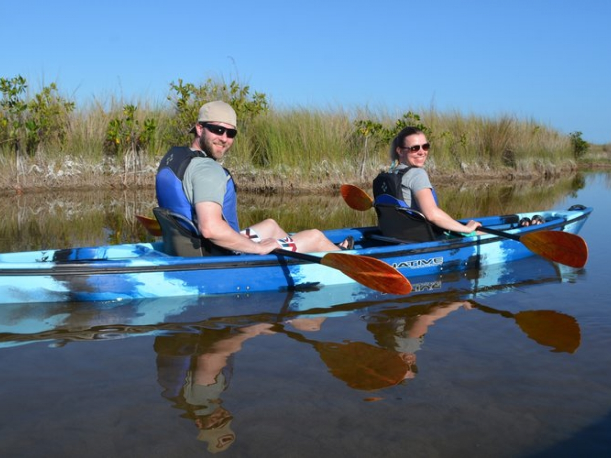 Single and tandem kayaks available