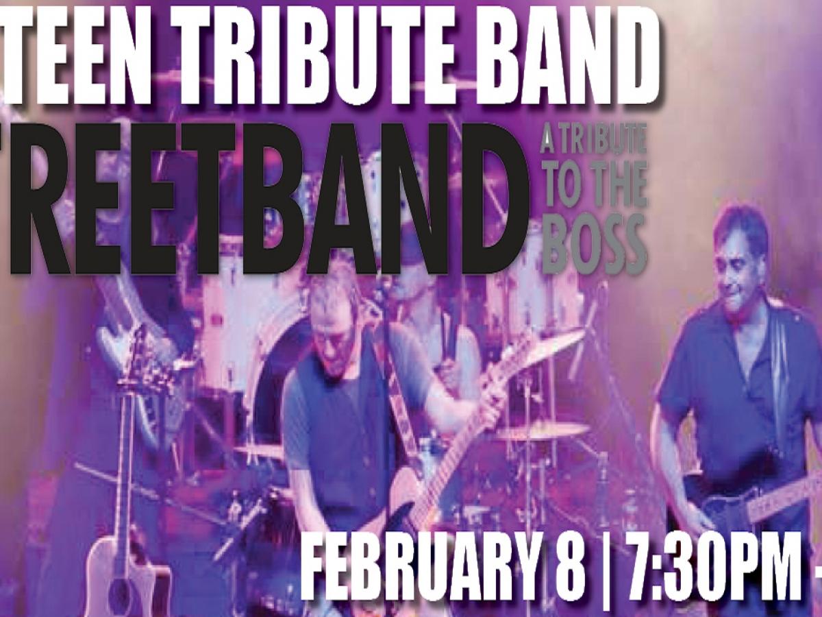"""B Street Band """"Bruce Springsteen"""" Tribute dinner show"""