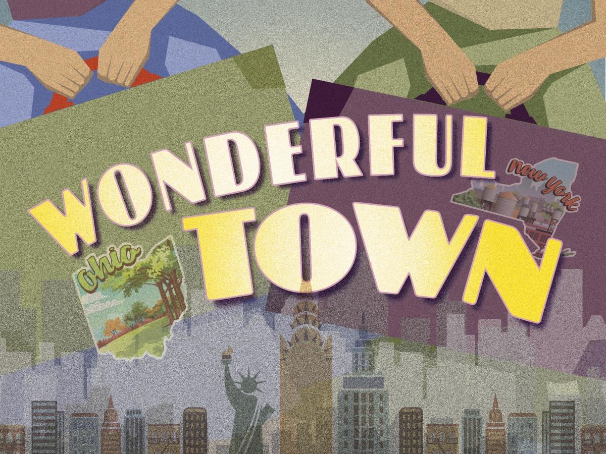 TheatreZone presents Wonderful Town Jan. 9-19, 2020.