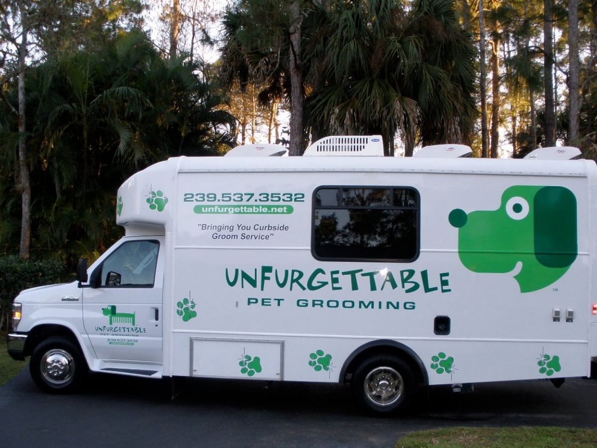 Unfurgettable Mobile Pet Grooming | Naples, Marco Island & Everglades