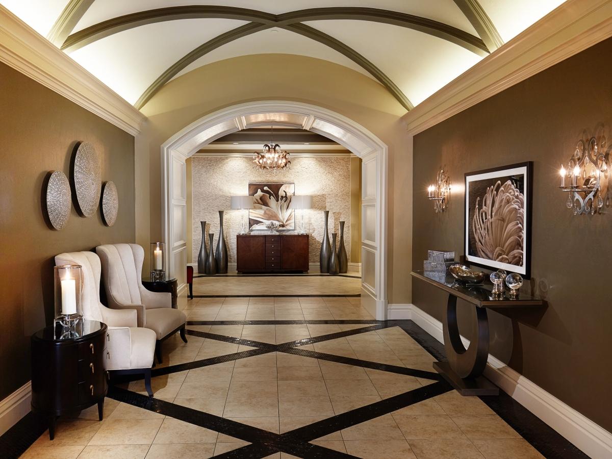 Vanderbilt Country Club Foyer