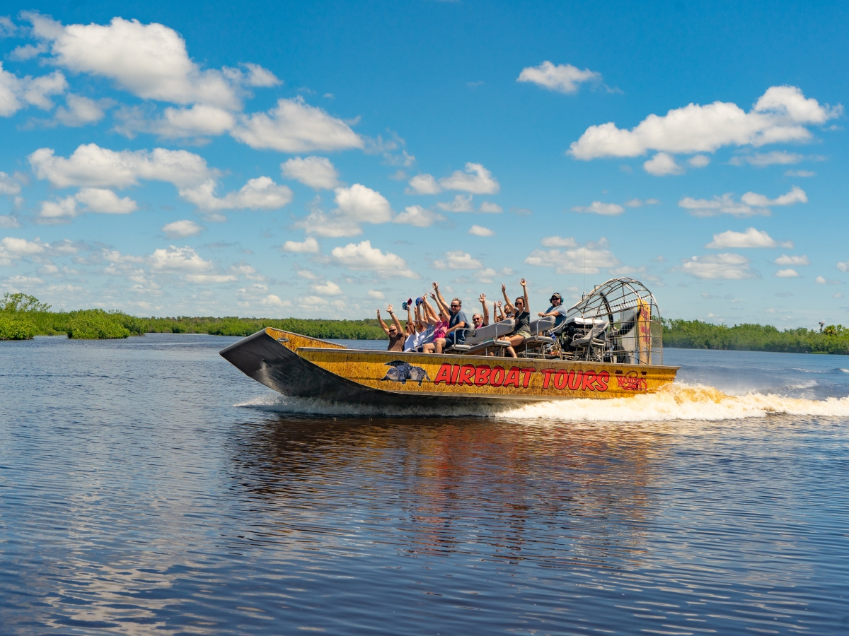 Wooten's Airboat Tour