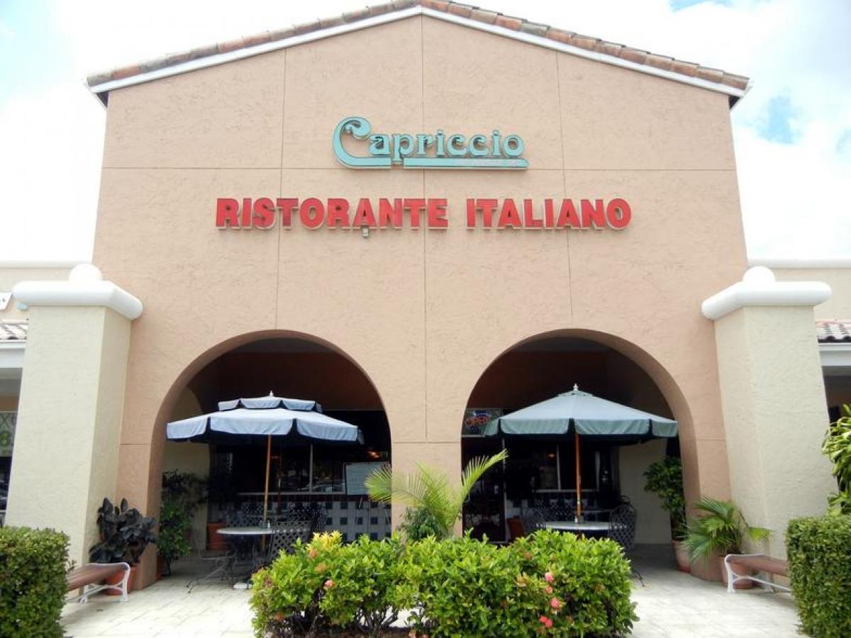 Capriccio S Italian Restaurant Pizzeria Naples Marco