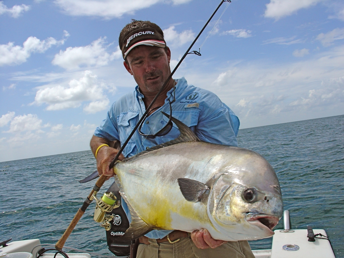 Big Permit On Light Tackle With Captain Will Geraghty