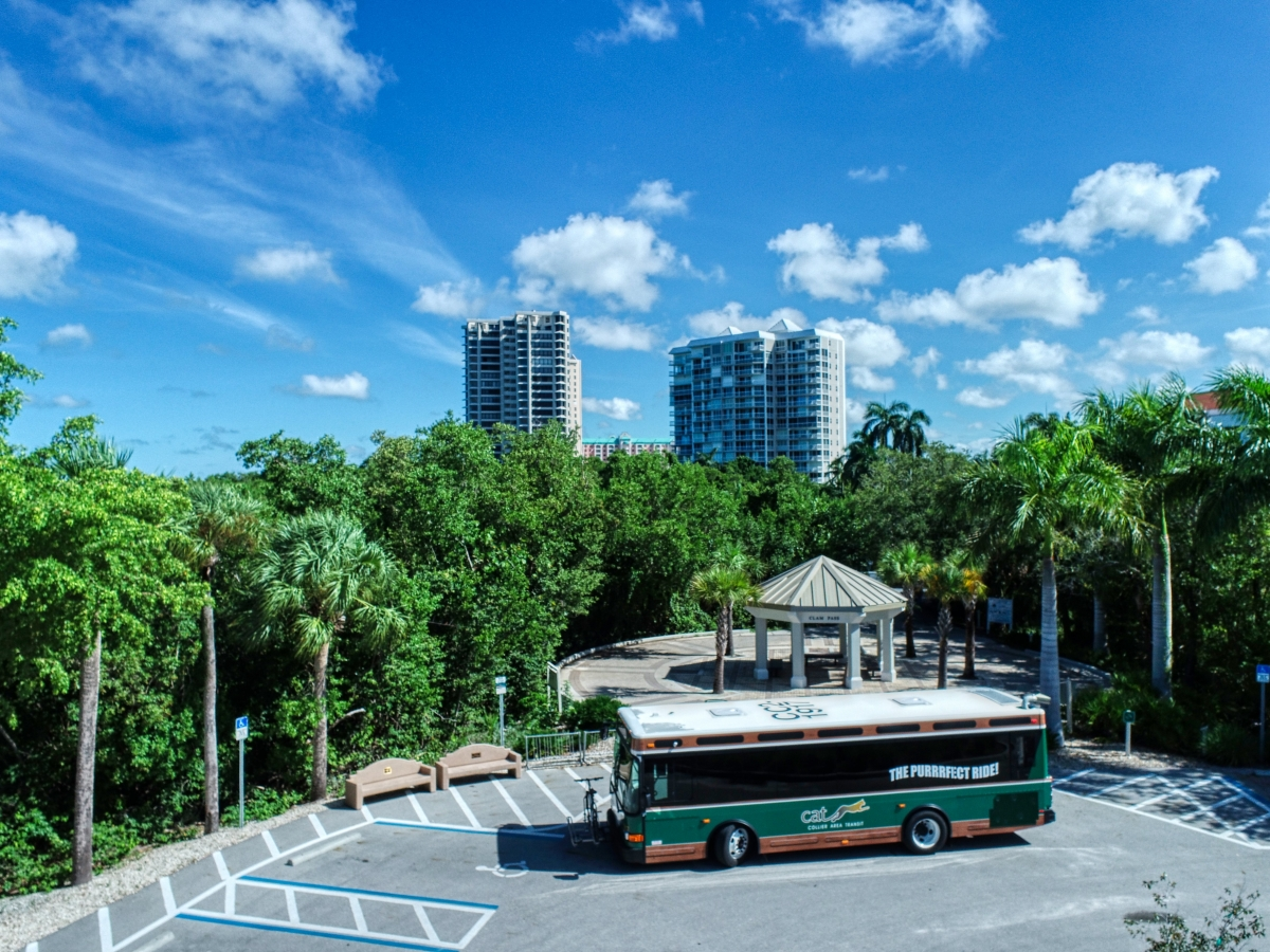 Collier Area Transit (CAT) can take you to all the key areas within in Collier County.
