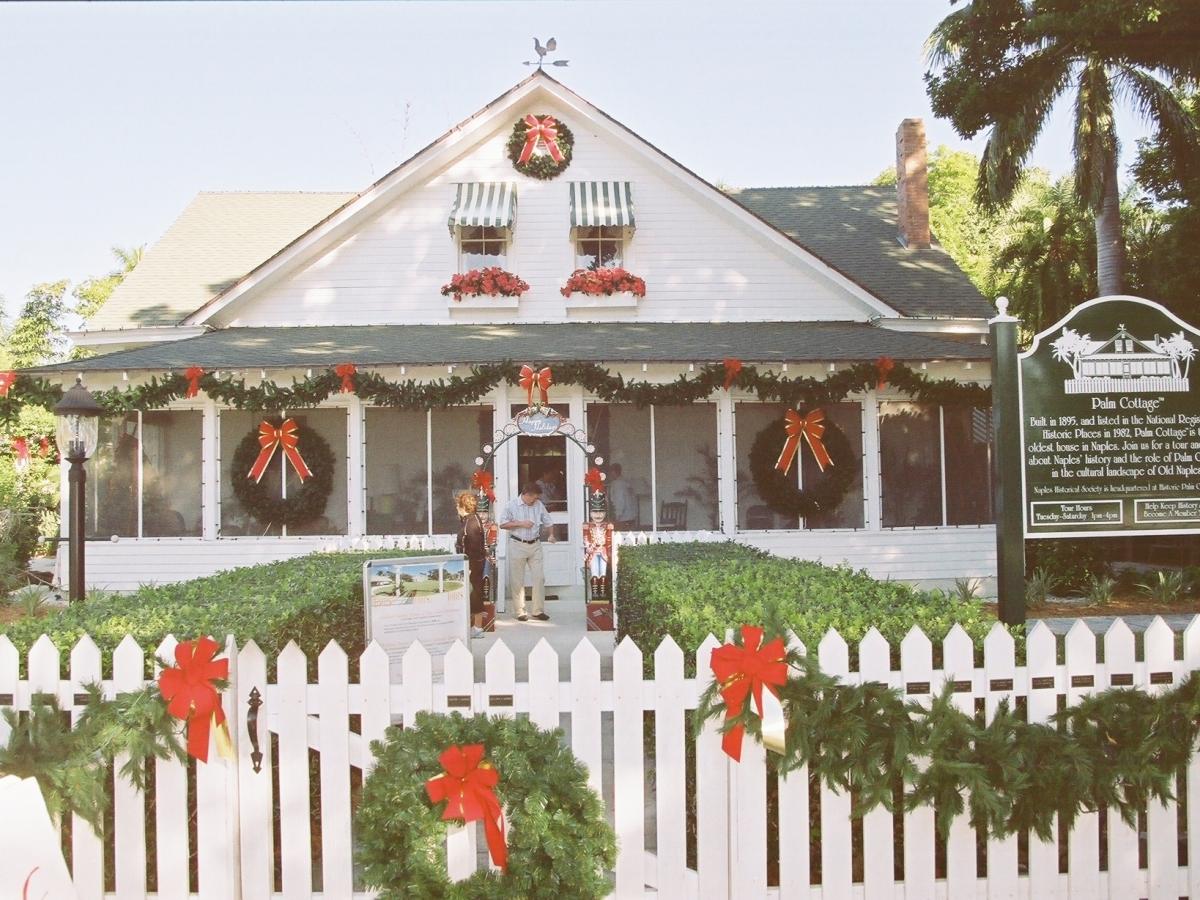 Palm Cottage.  Photo courtesy Naples Marco Island Everglades CVB.