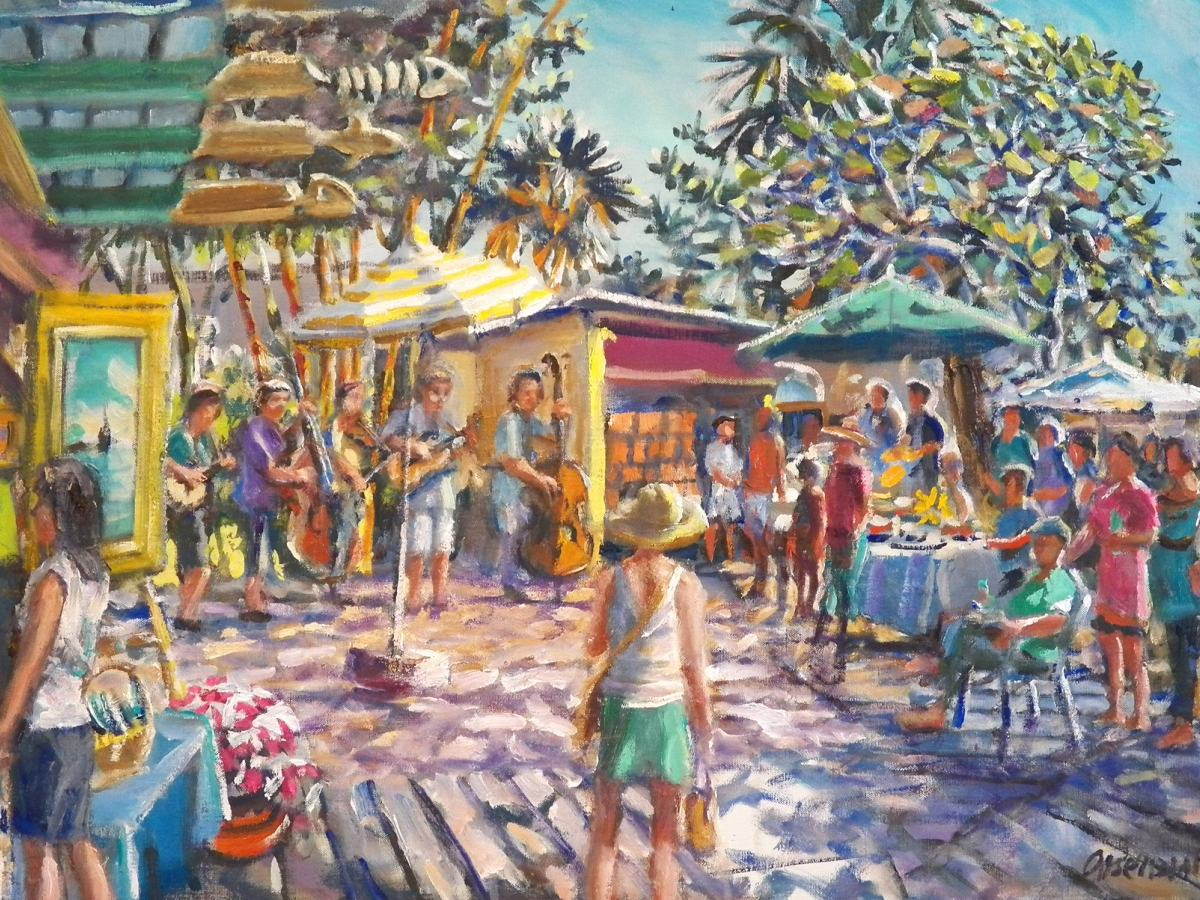 Paul Arsenault watercolor of The Clay Place