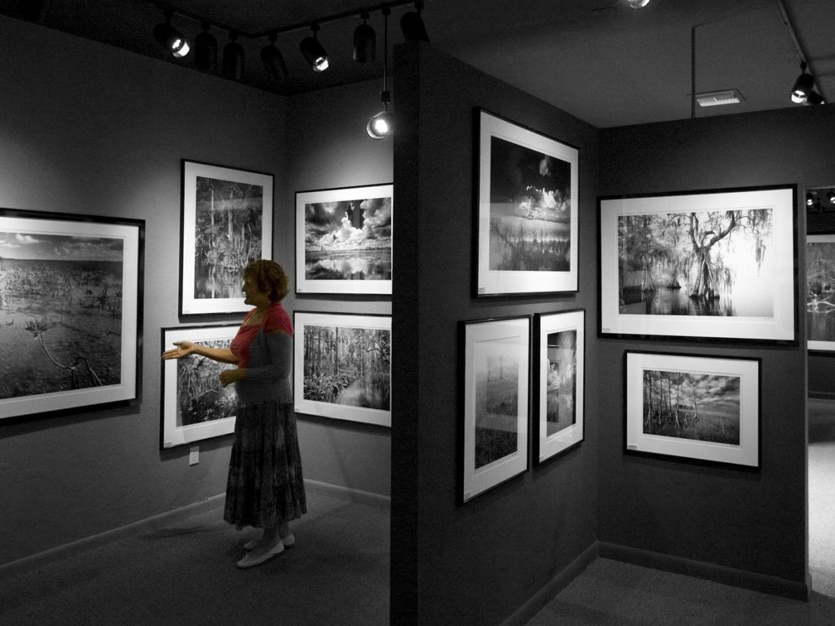 Inside of gallery