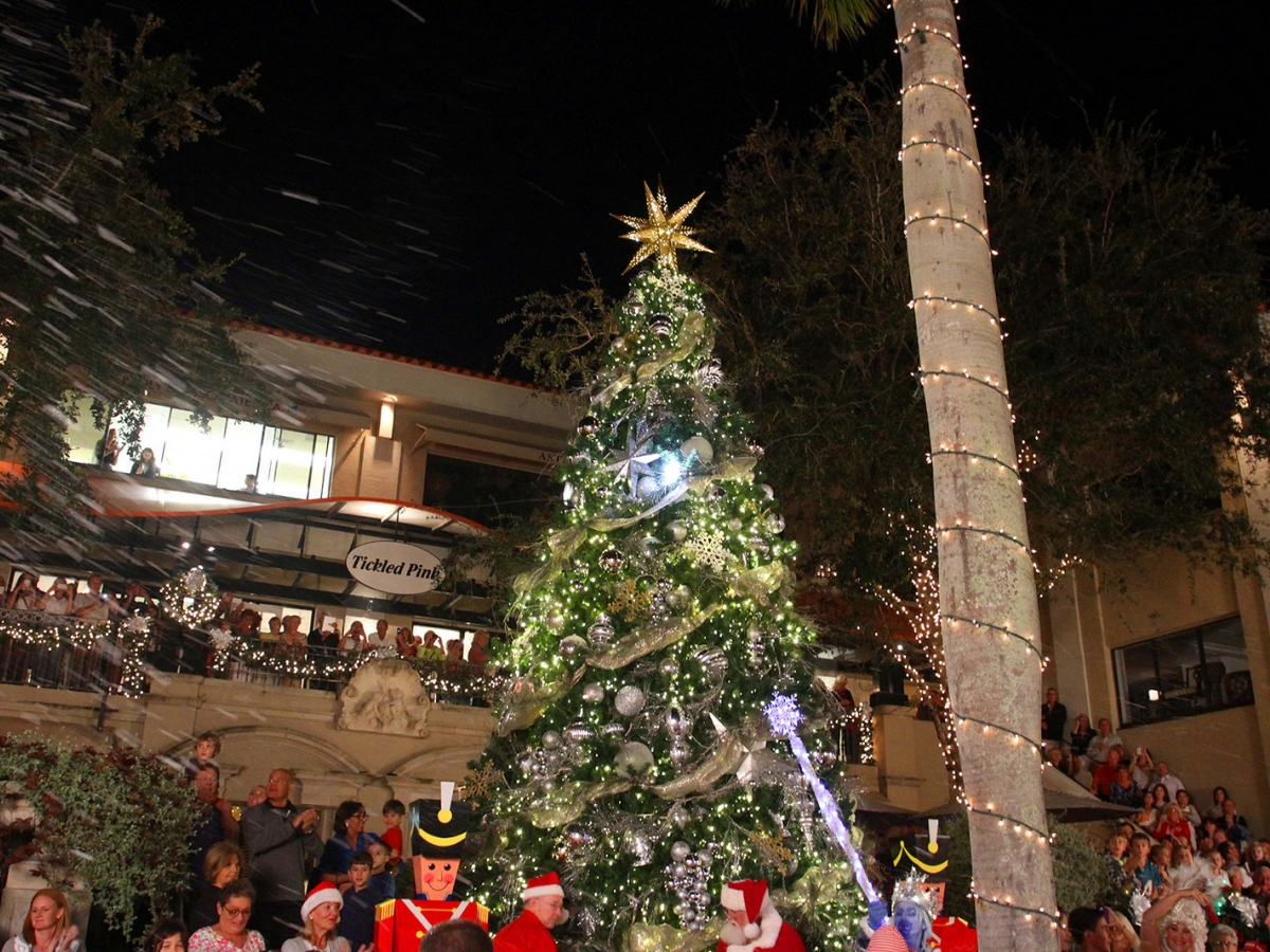 Christmas on Third Tree Lighting & Snow Celebration | Naples