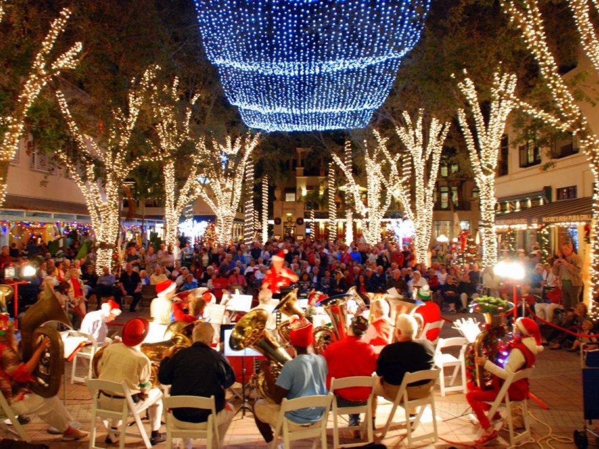 Christmas in Naples, Florida