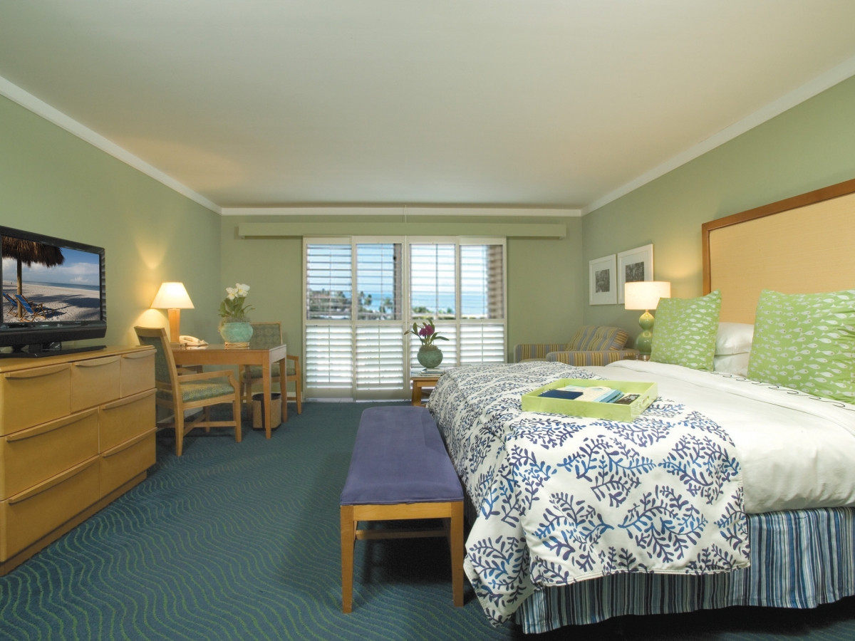 Guest rooms throughout the resort - all newly renovated!