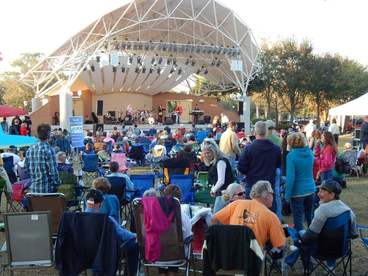 CREW Concert & Silent Eco-Auction at Riverside Park