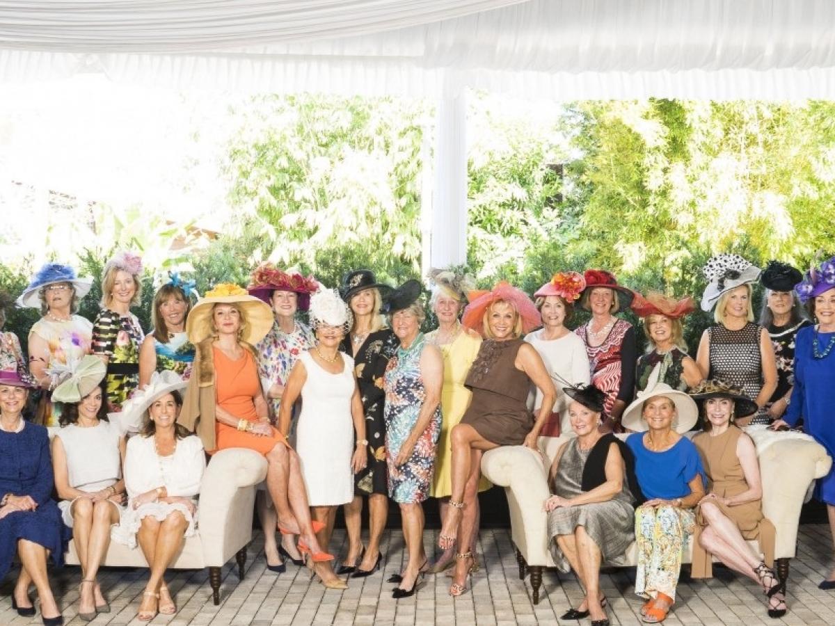 Hats in the Garden!