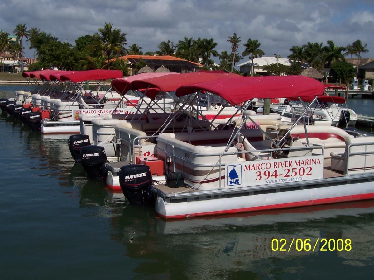 Late model rental boats