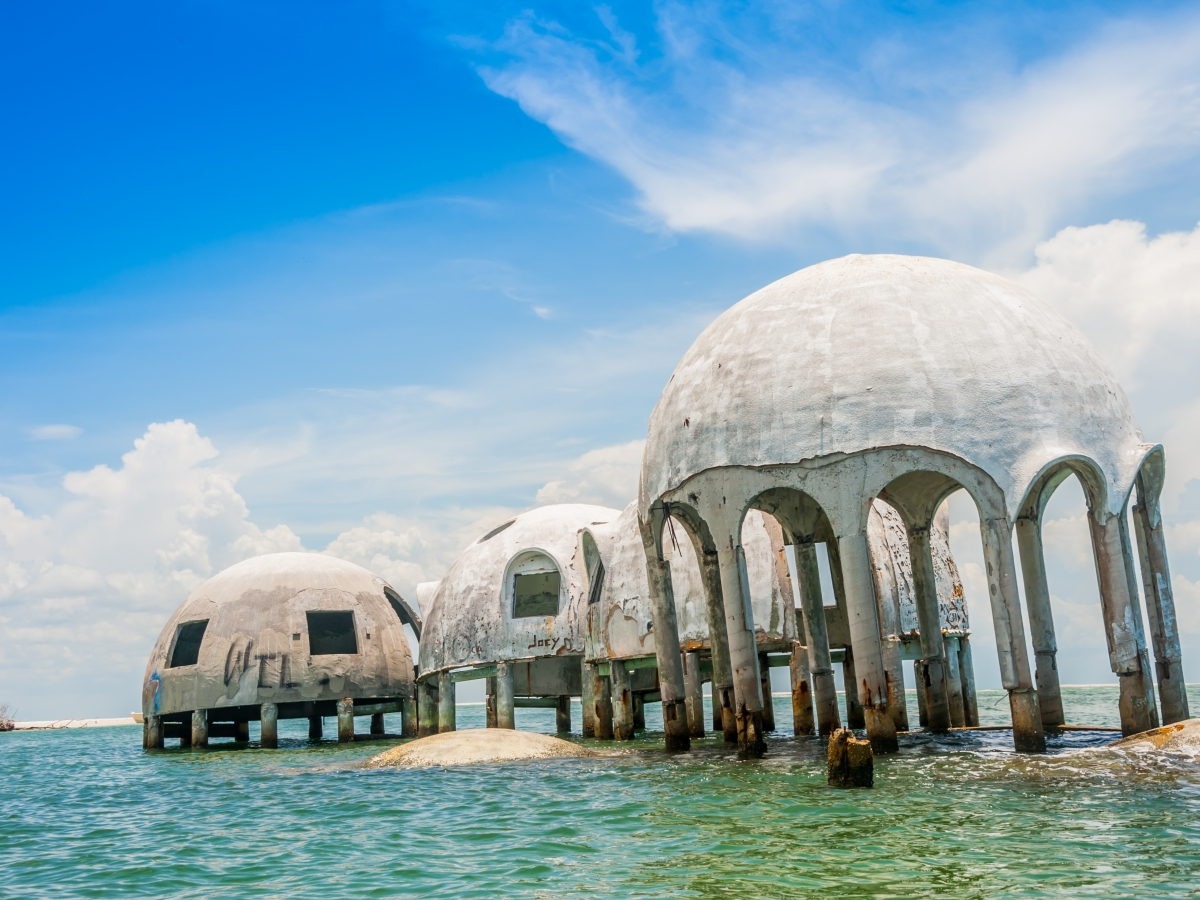 Cape Romano Dome Houses, Ten Thousand Islands