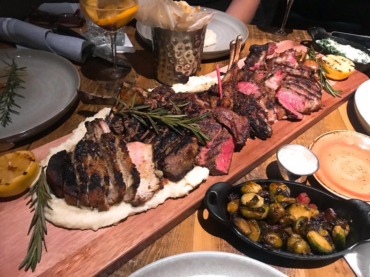 Steak Dinner in Naples