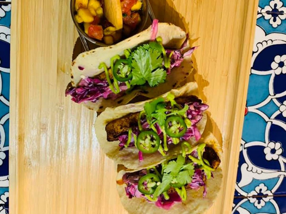 Turco Tacos in Naples, Fla. uses fresh, local, organic ingredients
